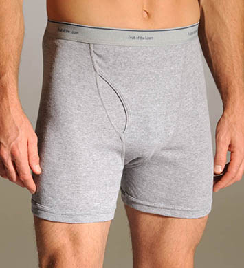 Fruit Of The Loom Basic Boxer Briefs - 2 Pack