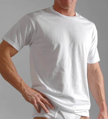 Hanes Big Mens Original Cotton Crew T-Shirts - 3 Pack