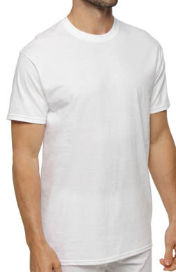 Hanes White Crewneck T-Shirts - 3 Pack