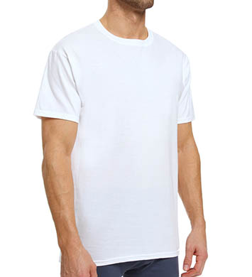 Hanes White X-TEMP Crewneck T-Shirts - 3 Pack