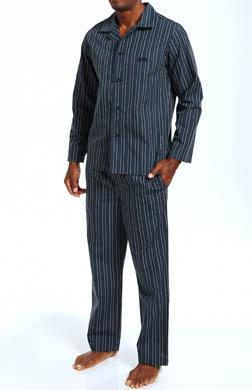 Hugo Boss Innovation 2 Long Woven Pajama Set Gift Box