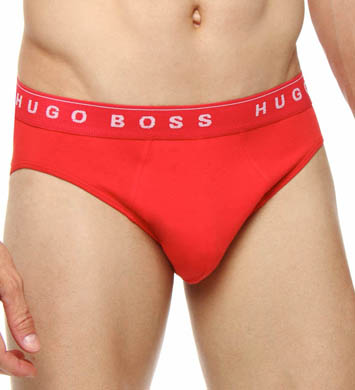 Hugo Boss 100% Cotton Mini Briefs - 3 Pack