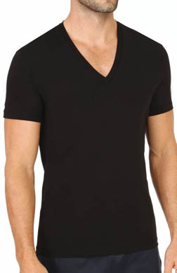 Hugo Boss Real Cool Cotton S/S V-Neck T-Shirt