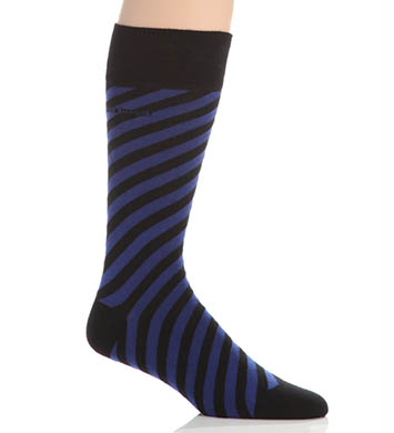 Hugo Boss Combed Cotton Angle Striped Socks