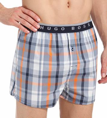 Hugo Boss Plaid Woven Boxer Short