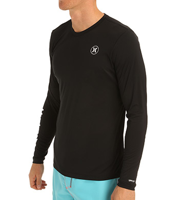 Hurley Nike Dri-Fit Icon Long Sleeve Surf Shirt