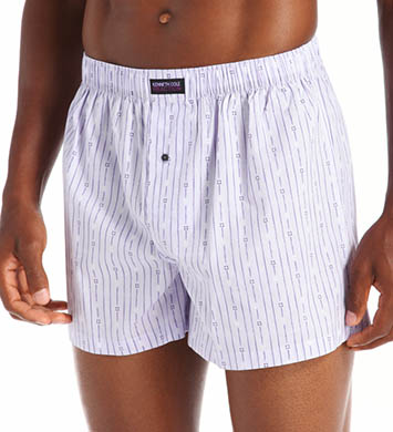 Kenneth Cole Reaction Fashion Stripe Cotton Woven Boxer