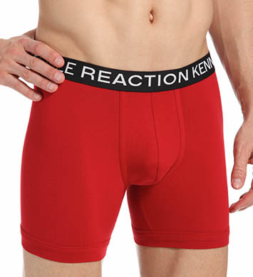 Kenneth Cole Reaction REAL COOL Stretch Cotton Boxer Briefs - 2 Pack