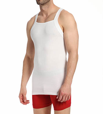 Kenneth Cole Reaction REAL COOL Stretch Cotton Tank - 2 Pack