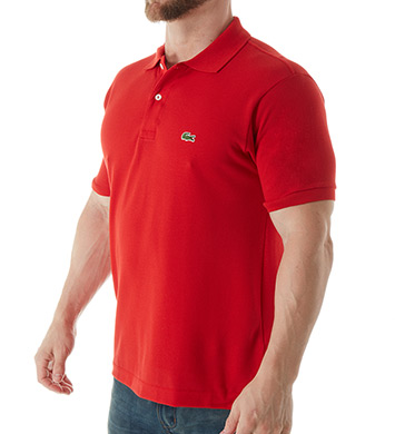 Lacoste Classic Pique 100% Cotton Short Sleeve Polo