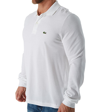Lacoste Classic Pique 100% Cotton Long Sleeve Polo