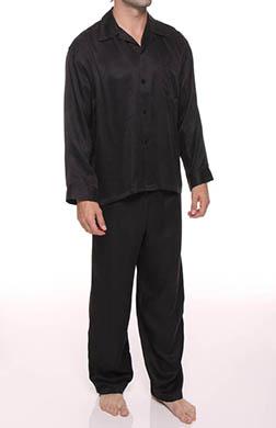 Mansilk Paisley Jacquard Pajama Set