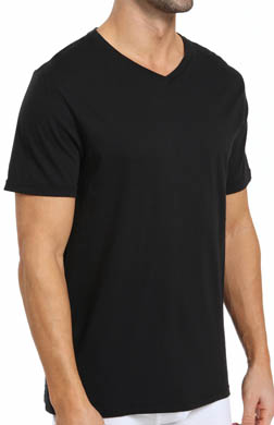 Michael Kors Soft Touch Cotton Modal V-Neck T-Shirts - 3 Pack