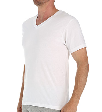 Munsingwear Cotton V-Neck T-Shirts - 3 Pack