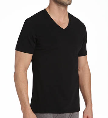 Naked Silver V-Neck T-Shirt