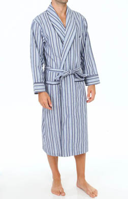 Nautica Sultan Stripe Shawl Collar Robe