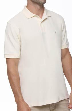 Nautica Short Sleeve Perfomance Pique Polo