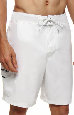 Nautica Half Back Elastic Swim Trunk