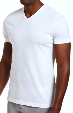 Nero Perla Studio LP Short Sleeve V-Neck T-Shirt