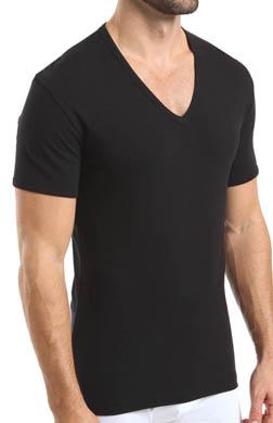 Nero Perla Comfort V-Neck T-Shirt