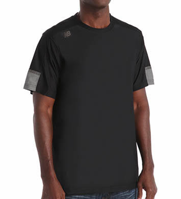 New Balance Cross Run Performance Short Sleeve Top