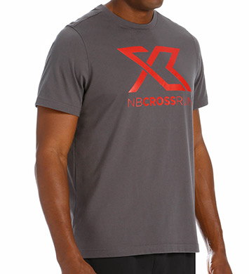 New Balance Cross Run Performance Graphic Tee