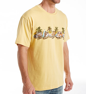 Newport Blue Coastal Cruise Cotton T-Shirt