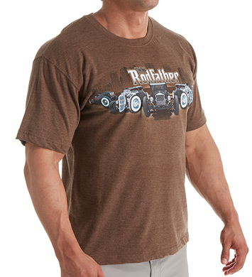 Newport Blue The Rodfather Cotton T-Shirt