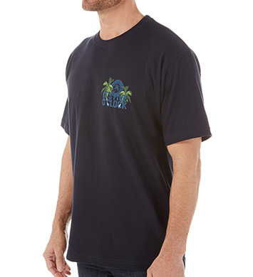 Newport Blue It's Five O'Clock Cotton T-Shirt