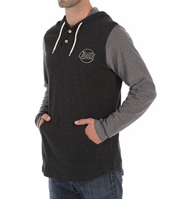 O'Neill Market Long Sleeve Knit Hoodie Cotton Pullover