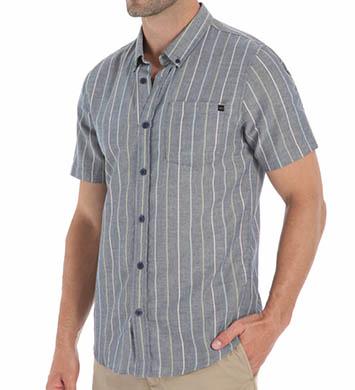 O'Neill Kepler Short Sleeve Pinstripe Woven Shirt