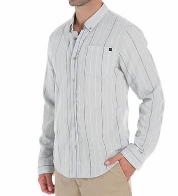 O'Neill Kepler Long Sleeve Pinstripe Woven Shirt