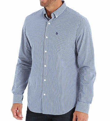 Original Penguin Long Sleeve Gingham Shirt