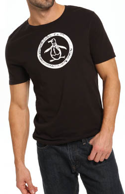 Original Penguin Circle Logo T-Shirt
