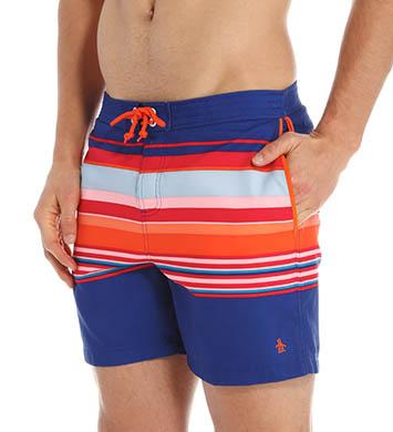 Original Penguin Bold Stripe Swim Short