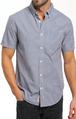 Original Penguin Short Sleeve Gingham Shirt