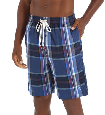 Original Penguin Cliffside Plaid Sleep Short