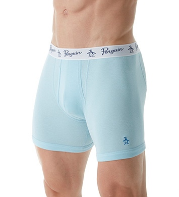 Original Penguin 100% Cotton Boxer Briefs - 3 Pack