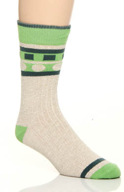 Pact Aerial View Camp Sock