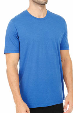 Pact Electric Blue Crew Neck T-Shirt