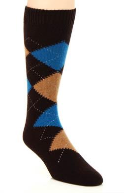 Pantherella Beaulieu Cashmere Argyle Sock