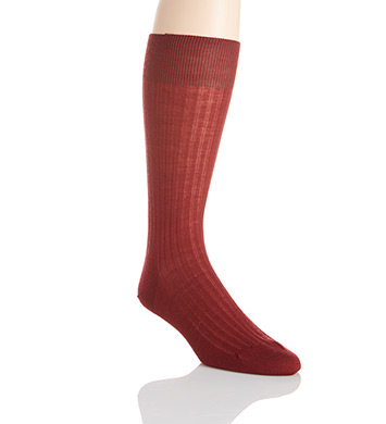 Pantherella Merino Wool Dress Socks - 5x3 Rib