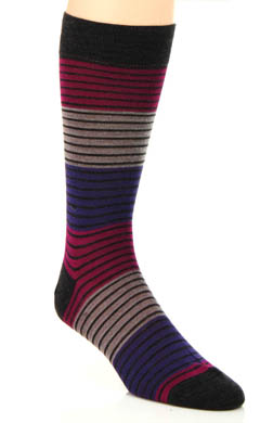 Pantherella Tate Colour Block Stripe Sock