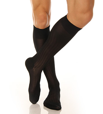 Pantherella Luxury Silk Over the Calf Sock