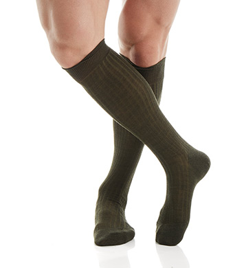 Pantherella OTC Merino Wool Dress Socks - 5x3 Rib