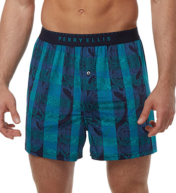 Perry Ellis Luxe Interlude Print Boxer Short