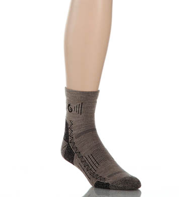 Point 6 Hiking Tech Light Merino Wool Mini Crew Sock