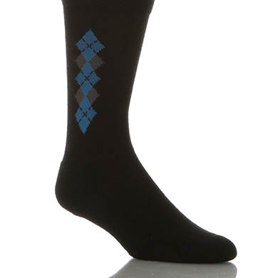 Point 6 Argyle Light Crew Sock
