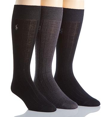 Polo Ralph Lauren Merino Wool Dress Socks - 3 Pack
