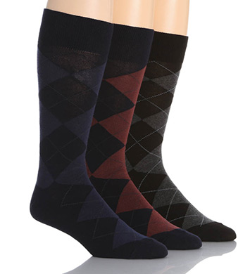 Polo Ralph Lauren Classic Argyle Cotton Socks - 3 Pack